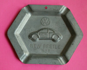 Mexican VOLKSWAGEN VW New Beetle launch Promo ashtray 1998