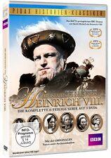 Die sechs Frauen von Heinrich VIII. - DVD Serie 6-Teile Kultserie Pidax Neu Ovp