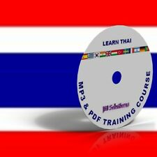 Learn To Speak Thai Language fluently Course DVD, MP3 & PDF, Thailand language