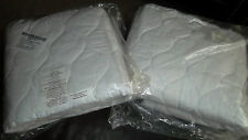 2 new TWIN MATTRESS COVER PROTECTOR PAD TOPPER BED TOPPER NEW IN PKG!!