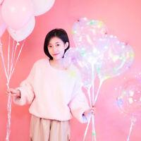Eg _ Leuchtend Led Luftballon Transparent Rund Liebe Herzförmig Dekor für Party