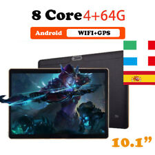 """10.1 """"Tablet Android Bluetooth PC 4+64G ROM 2SIM GPS Phone Pad IPS wifi tablet"""