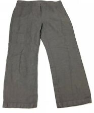 Eileen Fisher Gray Wide Leg Boot Style Women Casual Pants 12 P (34x28)