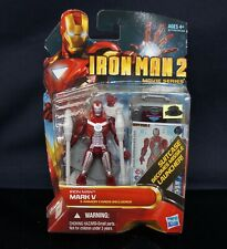 Marvel Universe Iron Man 2 Movie Mark V 5 Action Figure
