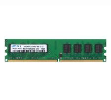 For Samsung 2GB DDR2 800MHz 800 PC2-6400U Intel DIMM Desktop Memory Low Density