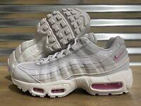 WMNS Nike Air Max 95 SE Running Shoes Gray Psychic Pink SZ ( AQ4138-002 )