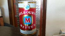 rare vintage reschs 740ml melbourne bitter  beer tin  can