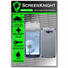 ScreenKnight Samsung Galaxy S3 FULL BODY SCREEN PROTECTOR invisible shield