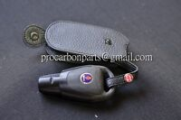 Genuine Key Leather Case for SAAB 93 95 9-3 9-5 smart key in Black colour