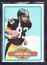 1980  THEO BELL - Topps Football Card- # 216 - Pittsburgh Steelers - Vintage