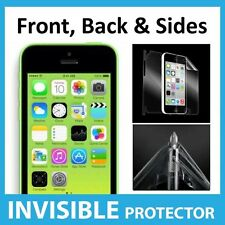 iPhone 5C Full Body INVISIBLE Screen Protector Shield Front, Back & Sides Inc