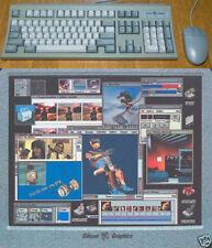 SGI TASTIERA & Mouse ps2, granito design tedesco German Layout & scivolo NUOVO