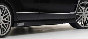 Mercedes-Benz Genuine Brabus Brand OEM LED Side Skirt Pair CLS Class W218
