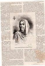 JEAN DE BOURBON ARTICLE DE PRESSE 1881