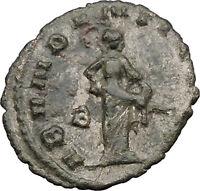 Gallienus son of Valerian I  Rare Ancient Roman Coin Good fortune Cult   i31651