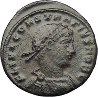 Constantius II Constantine the Great son Ancient Roman Coin Legions i29833