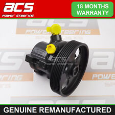 PEUGEOT 306 POWER STEERING PUMP 2.0 HDI 1999 TO 2002 - GENUINE RECONDITIONED