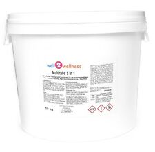 Chlortabletten Chlor Multitabs 5 in 1, 200g im 10 kg Eimer mit 96% Aktivchlor