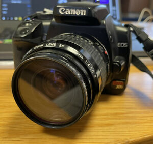 Canon EOS Digital Rebel XTi/400D 10.1MP Camera, 18-55mm II Lens with Accessories