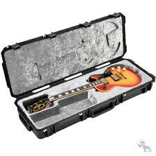 SKB Waterproof Flight Hard Case TSA Lock Wheels Les Paul LP Guitar 3I-4214-56