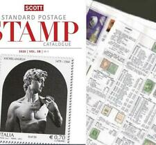 Israel 2020 Scott Catalogue Pages 591-646