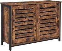 Sideboard Kommode Küchenschrank Schiebetüren Ablage Industrie-Design Vintagebrau