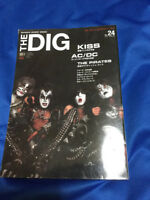 DIG magazine Kiss article about 70 pages Gene Simmons Paul stanley Ace Frehley
