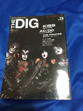 F/S DIG magazine Kiss article about 70 pages Gene Simmons Paul stanley