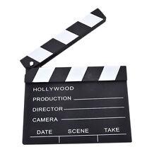 1 Pcs  Movie Clapper Clapperboard Prop Chalk Board Film Cut Prop Promot- uW
