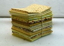 Quilt Fabric Fat Quarter Bundle In Yellows #1435