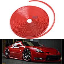 8M Red Car Wheel Hub Rim Edge Protector Ring Tire Guard Sticker Rubber Strip US