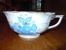 Herend Chinese Bouquet Blue ~ Coffee or Tea Cup ~ 134-2-00/AB Perfect Condition