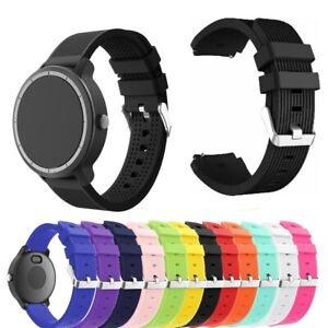 For Garmin Vivoactive 3 / Music Silicone Fitness Replacement Wrist Band Strap