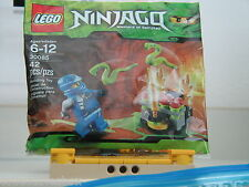 NEW! Lego NINJAGO Set 30085 JAY ZX JUMPING SNAKES PolyBag SEALED Retired!