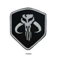 Mandalorian Singel Sheild Movie Embroidered Patch Iron on Sew On Badge