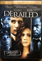 Derailed DVD Unrated Full Screen with Jennifer Aniston and Clive Owen