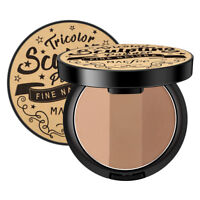 Face Highlighter Bronzer Powder Silky Matte Shading Contouring Palette high