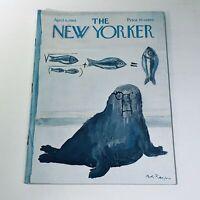 The New Yorker: April 6 1968 Andre Francois Cover Full Magazine