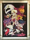 The Real Ghostbusters Stay Puft Print Poster Mondo Cartoon Tv Show Kyle Crawford