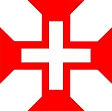 Aufkleber CHRISTUSORDEN Jesus Christus Orden Christen Christentum Auto Sticker