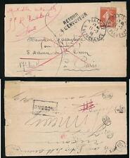 FRANCE 1911 RETURNED INCONNU with 5 INSPECTION MARKS