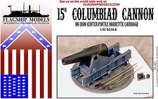 "Flagship Models 15"" Columbiad Cannon (Base 7.5"" dia.)"