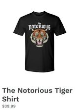 Connor McGregor NOTORIOUS OFFICIAL MERCH ON HIS SITE Shirt UNISEX all Sizes