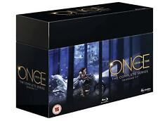 ONCE UPON A TIME COMPLETE SERIES  COLLECTION 1-7 BOX SET 35 DISC BLU-RAY RB NEW
