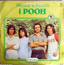 VINILE LP 33 GIRI RPM MUSICA E POESIA I POOH RB 174 ITALY 1978