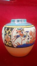 Antique Art Deco 1930`s Hand Painted Noritake Style Tt Japan Tiny Vase