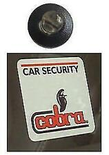 Car Alarm Dummy 12V LED with 2 Cobra Window Stickers