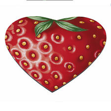 Strawberry HEART Fruit Food Cartoon Funny PC Computer Mousemat Mouse Mat Pad