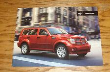Original 2009 Dodge Nitro Sales Brochure 09