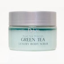 Deja Vu Dead Sea Minerals GREEN TEA Luxury Body Scrub - 250ml 8.5oz.  Dejavu
